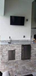 Branco Dallas Outdoor Kitchen main view by Elegant Outdoor Kitchens