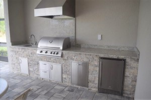 outdoor kitchen pulte