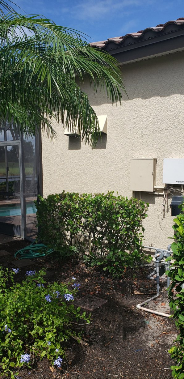 Photo of this barbeque islands ventilation system