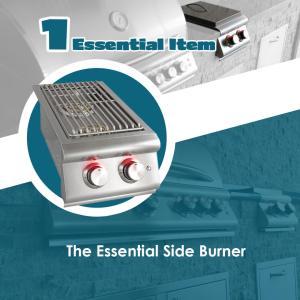 The Essentials Article The Side Burner - Elegant Outdoor Kitchens