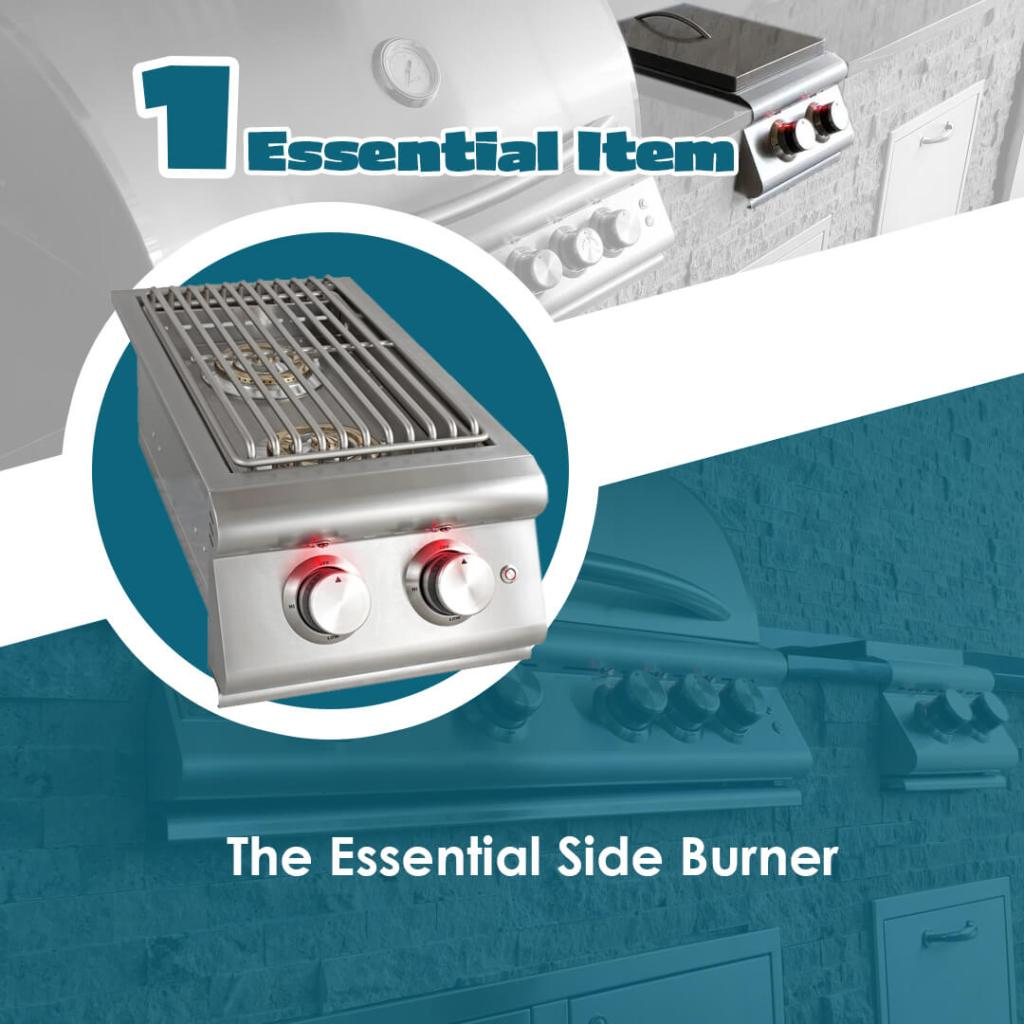 The Essentials Article The Side Burner - Elegant Outdoor Kitchens