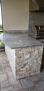 Beautiful Fontana Granite Counter-top Close-up