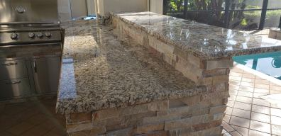 Close-up of Normandy Granite Counter-top