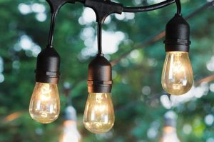 Can you use outdoor lights indoors