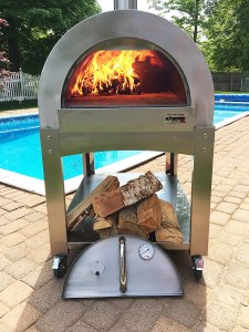 Best outdoor wood fired pizza oven