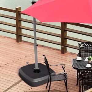 Best Outdoor Umbrella Base with Wheels