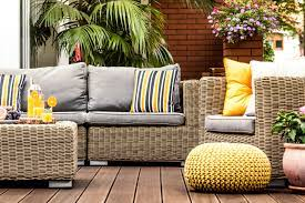How to remove tree sap out of outdoor furniture