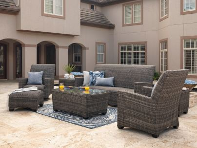 How to Protect Outdoor Resin Wicker Furniture - a well protected outdoor wicker furniture