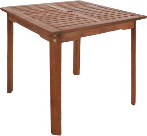 Best outdoor dining tables with umbrella holes