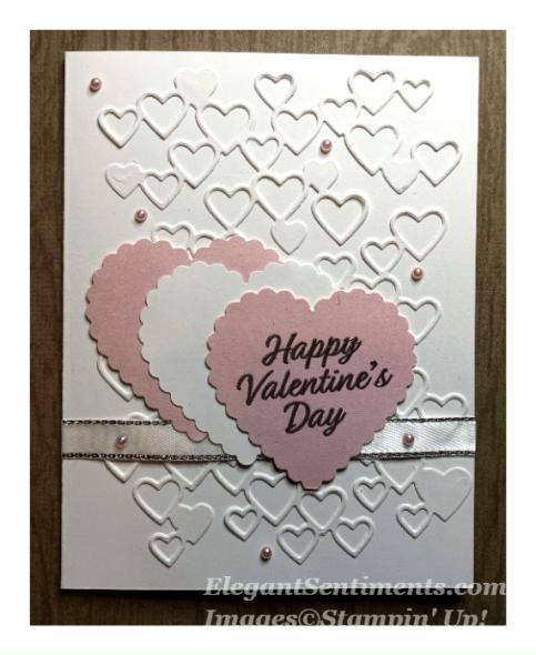 Pink and White Valentine