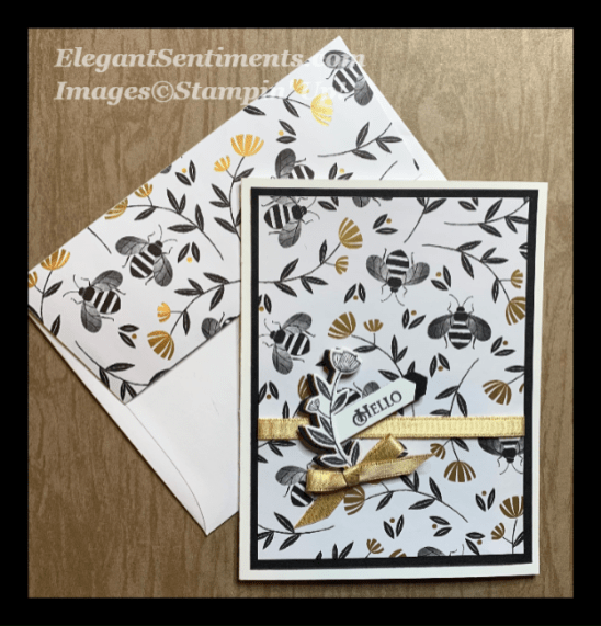 Card with coordinating envelope