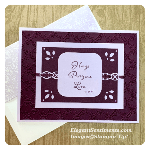 Thinking of You cards using Stampin' Up! products