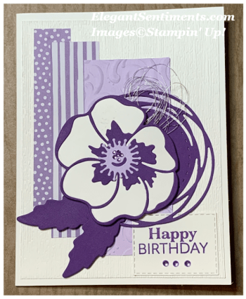 Sale-A-Brating Birthdays with Peaceful Poppies Suite