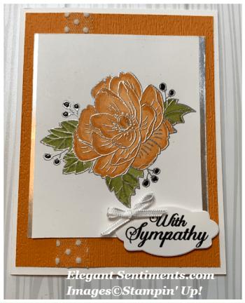 Beautiful Paper Pumpkin Rose