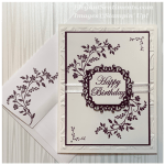 Birthday card and envelope made with Stampin