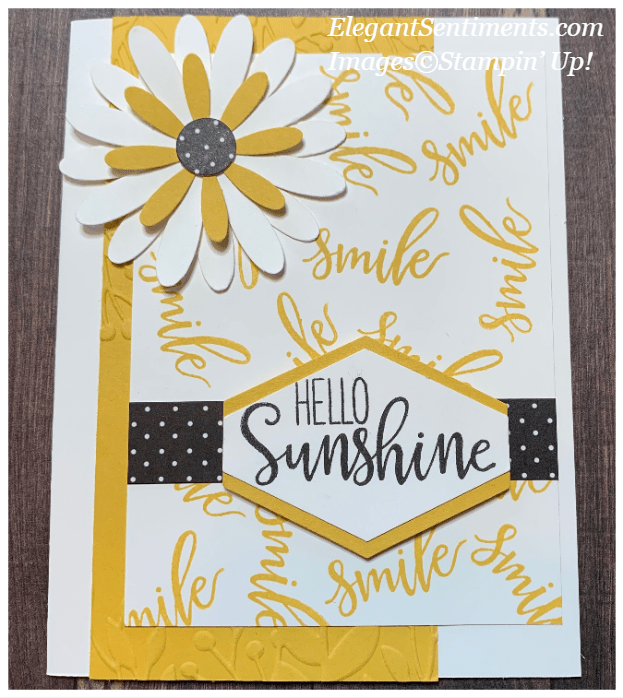 Paper Pumpkin altermative card made with Stampin' Up! products