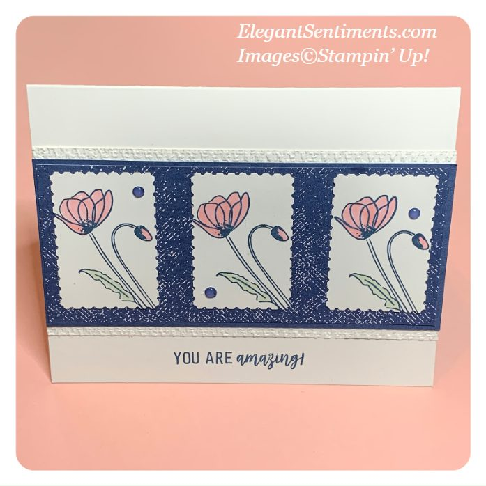 Greeting card made with Stampin' Up products