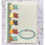 Greeting card make using Stampin