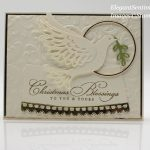 Christmas card made with Stampin