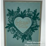 Valentine card made with Stampin