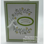Easter card made with Stampin Up! products