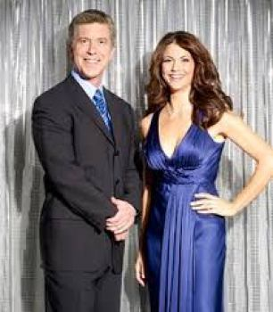 Tom Bergeron and his wife