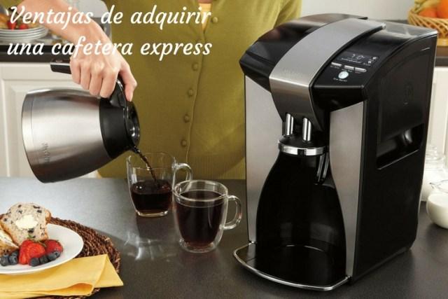 Ventajas de adquirir una cafetera express