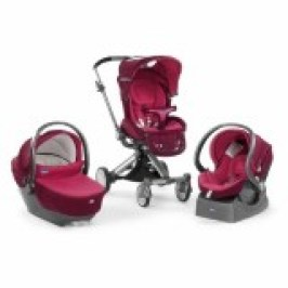 Elementos de un carrito de bebe