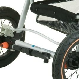 El cochecito de bebe: ¿Qué ruedas me convienen?