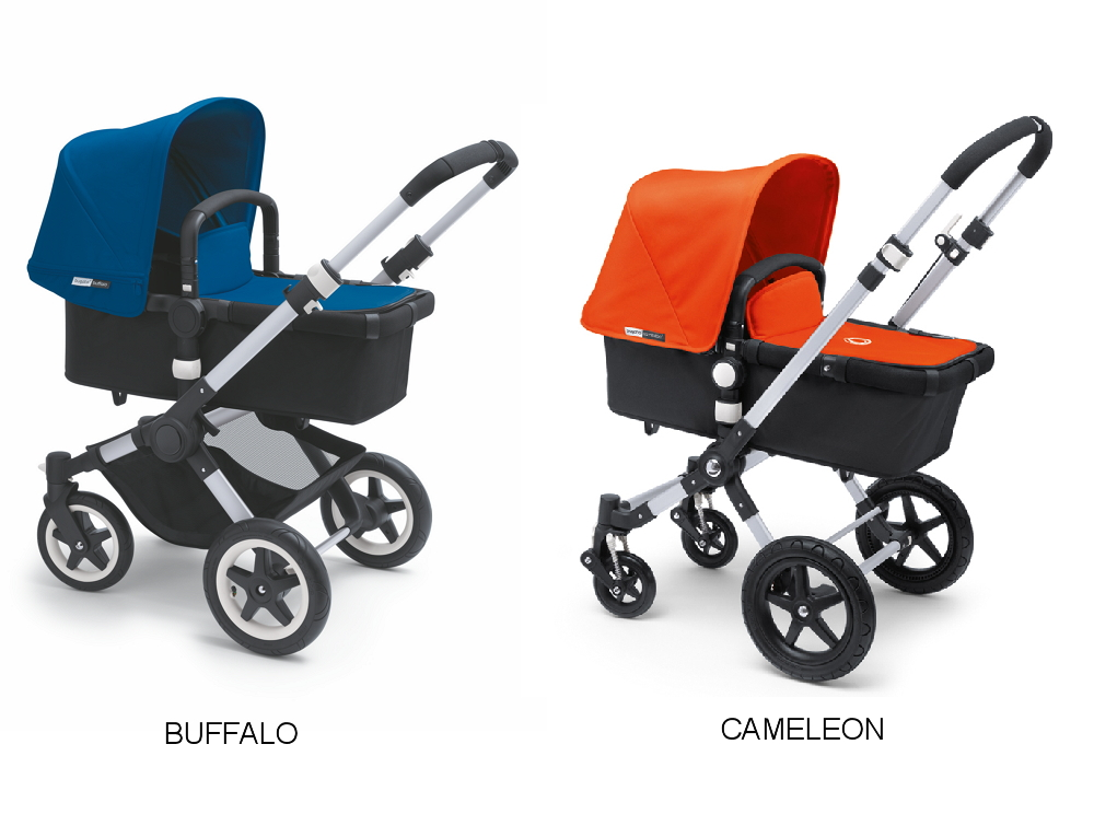 comparativa bugaboo cameleon vs bugaboo buffalo. Black Bedroom Furniture Sets. Home Design Ideas