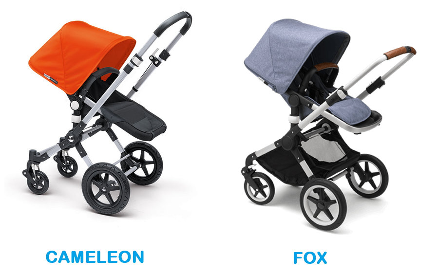 Comparativa: Bugaboo Cameleon vs Bugaboo Fox