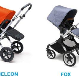 Comparativa: Bugaboo Cameleon vs Bugaboo Fox