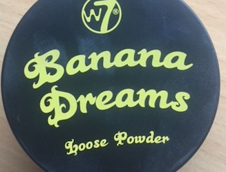 w7 banana dreams review ben nye banana powder dupe
