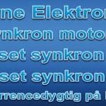 Synkron elektro motorer 2