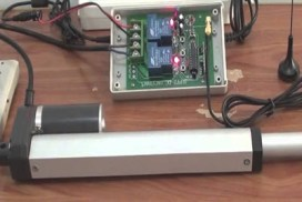 Linær aktuator kontrol box