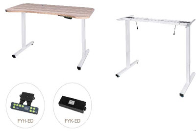 linaer adjustable desk