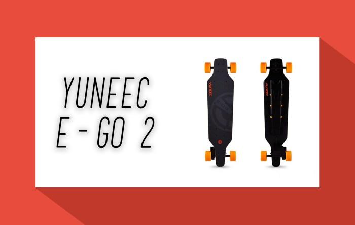 Yuneec e-go 2 - Elektro Skateboard - elektrisches Skateboard - Elektro Skateboards - elektrische Skateboards - eboard - eskateboard