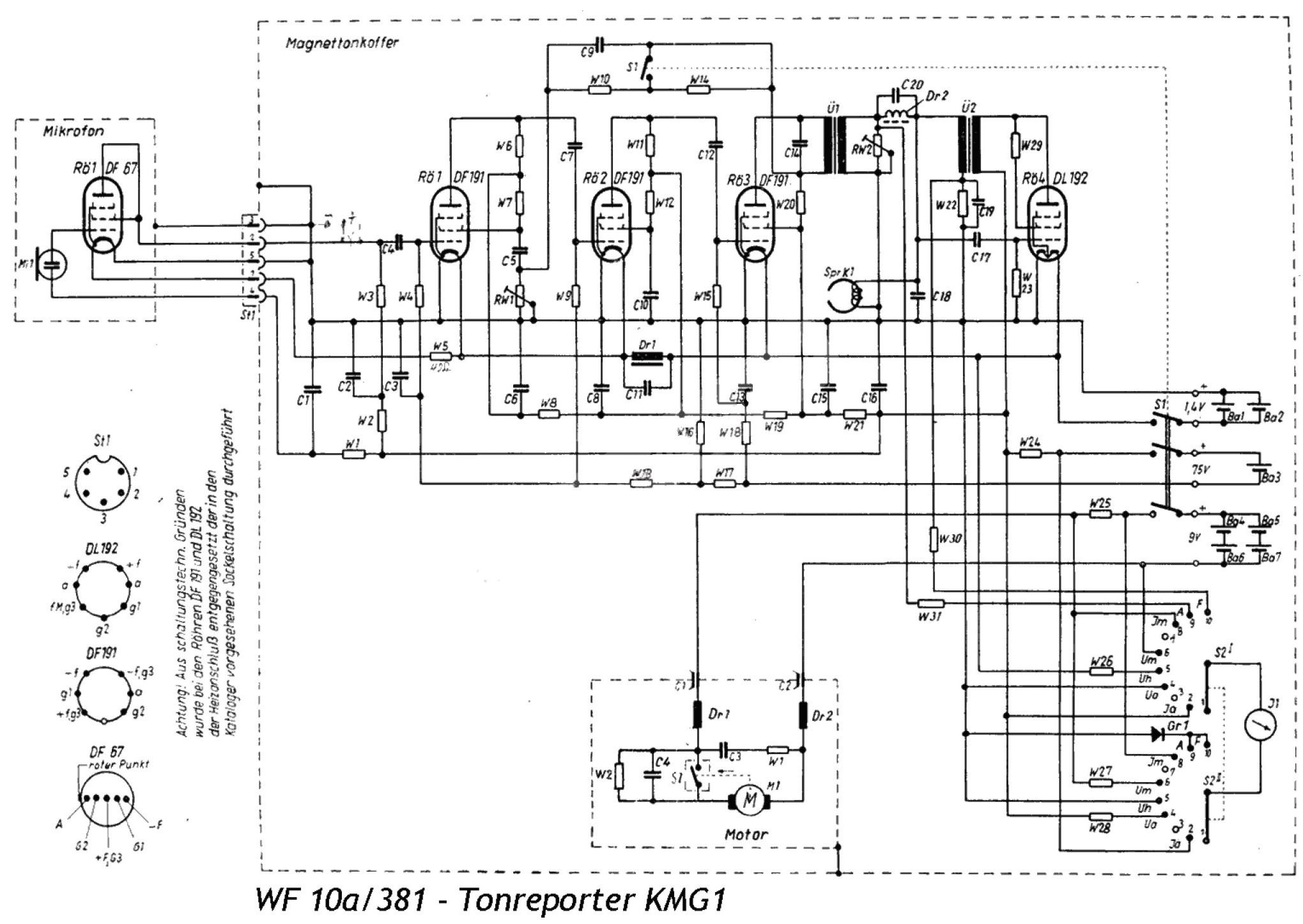 Elektroakustika Magnetofon Veb Werk F R Fernmeldewesen