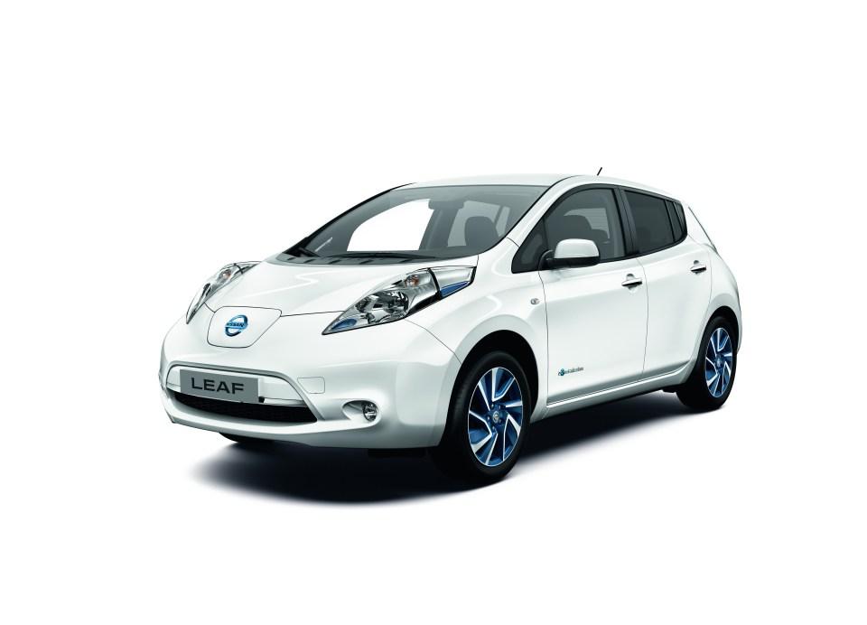 Das Elektroauto Nissan Leaf
