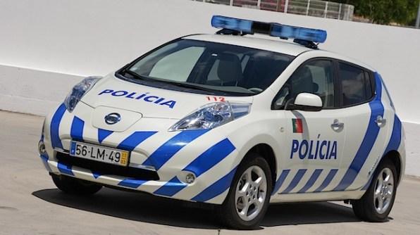 Nissan Leaf Policia