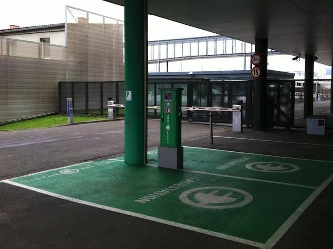 E-Tankstelle bei der Linz AG