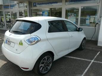 Renault ZOE eines Elektroauto-Pioniers und Ladestationen-Tester der 1. Stunde aus dem GoingElectric-Forum