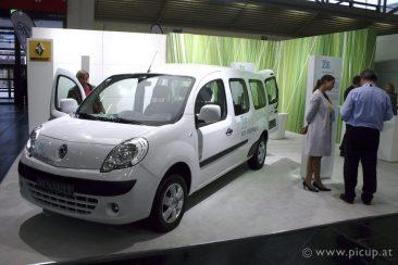 Renault mit dem Kangoo Z.E.