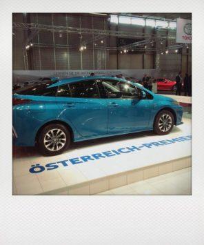 O?sterreichpremiere: Toyota Prius Plug-in-Hybrid: Design ist natu?rlich Geschmackssache... ...aber immerhin:50 km elektrische Reichweite.