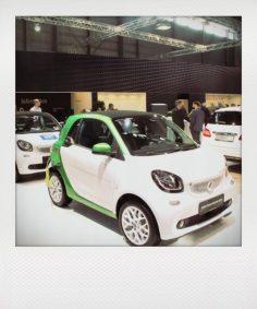 Nach la?ngerer Produktionspause - hier der neue Smart fortwo electric drive, auch als Cabrio und Viersitzer.