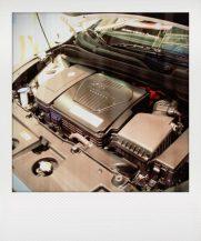 Der iX35 unter der Motorhaube. Brennstoffzelle, zwei Ku?hlkreis- la?ufe, E-Motor...
