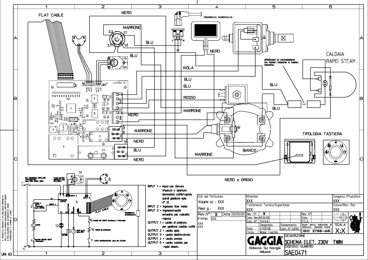 Gaggia New Baby V120 Service Manual Download Schematics Eeprom Repair Info For
