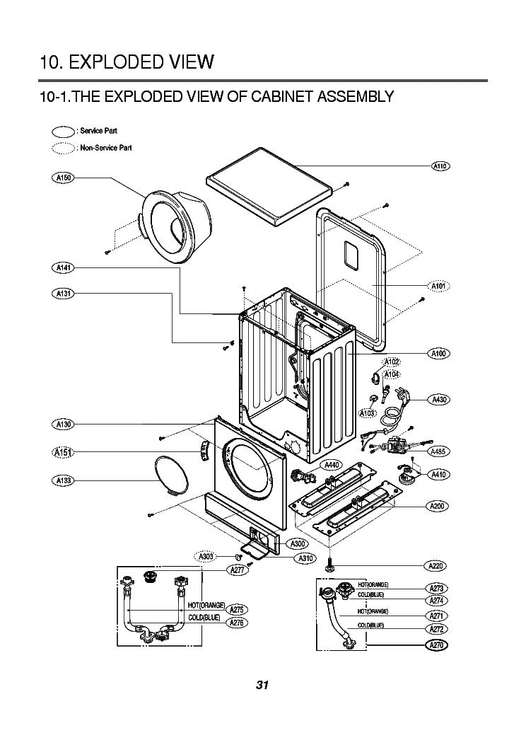 Manuals Repair Manual Lg Washing Machine Wd 14352 Diagram Ebook User