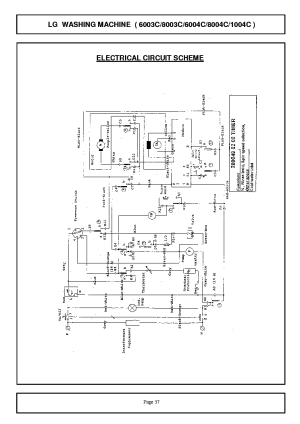 Wiring Diagram For Washing Machine On Wiring Download For