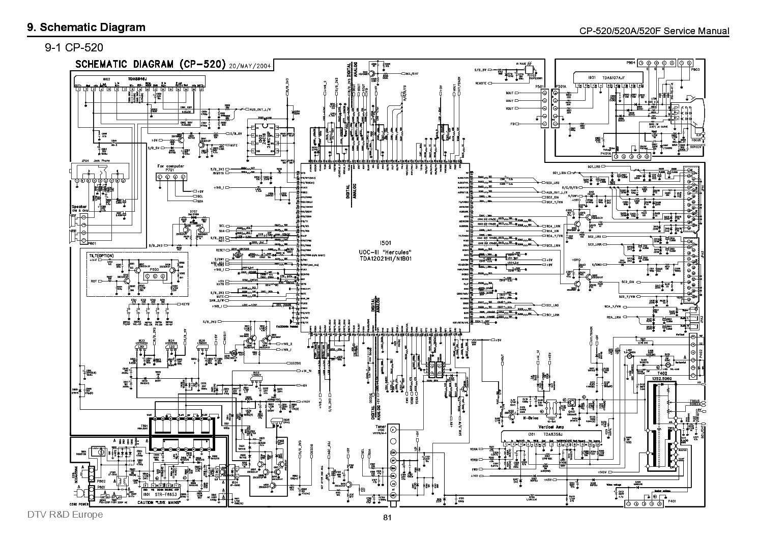 Daewoo Cp520 Service Manual Download Schematics Eeprom